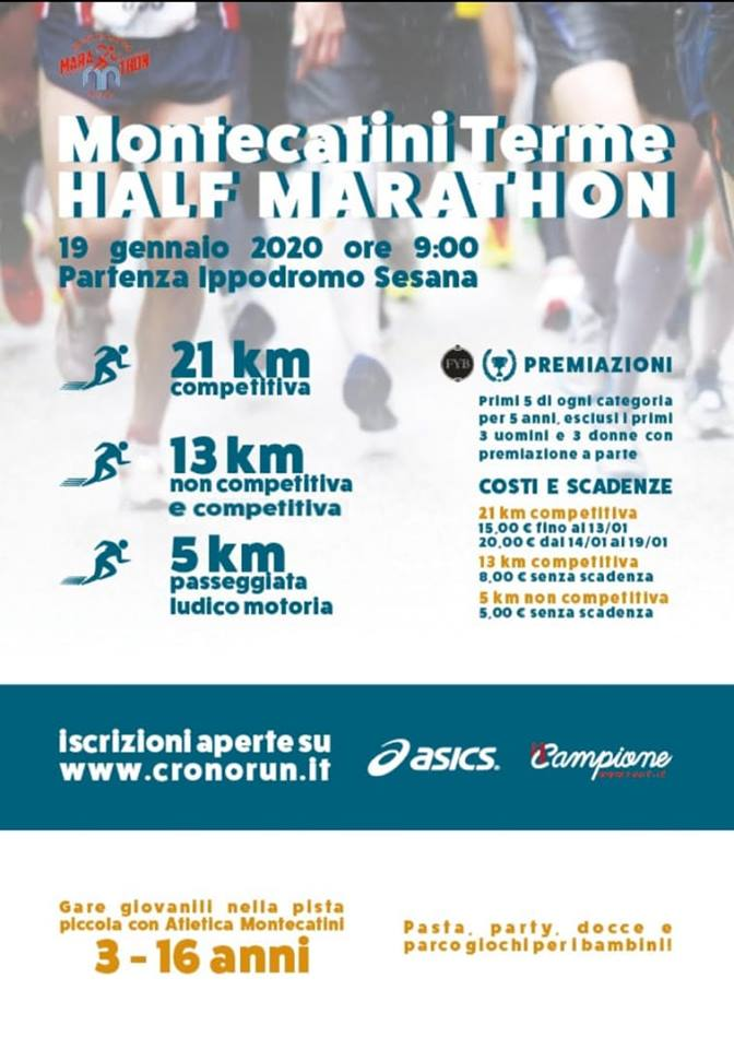 Locandina Alph Marathon
