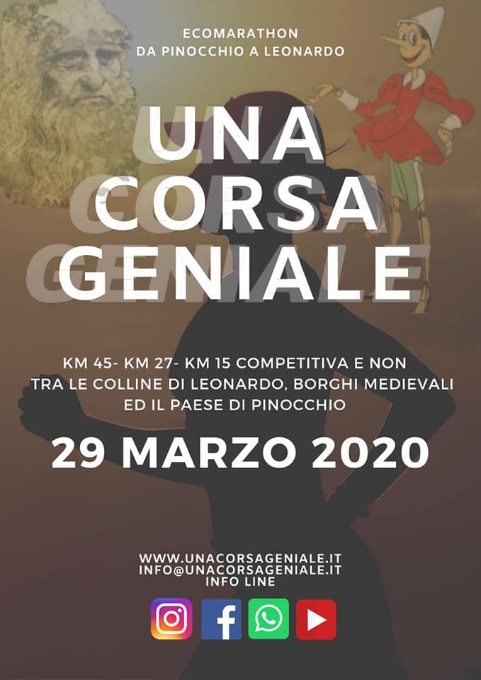 Locandina Una corsa geniale 2020