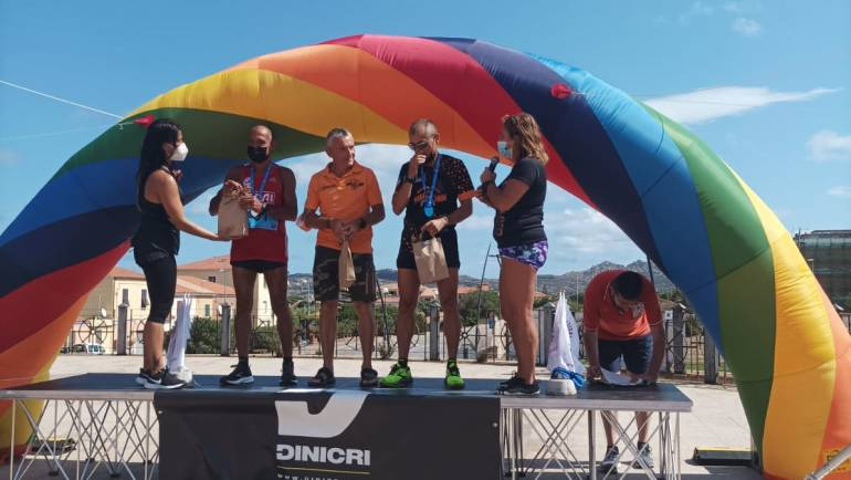 In trasferta a Caprera per la mezza maratona