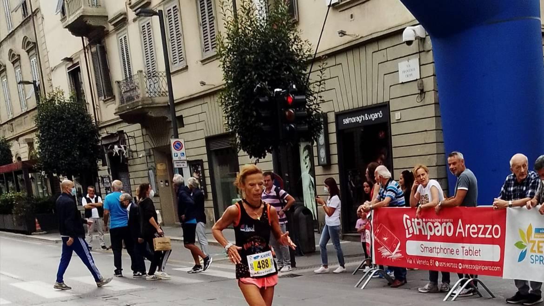 Campionessa Orange alla mezza di Arezzo